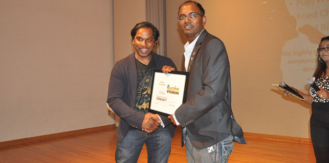 CK is Honoured By Lifetime Acheivement Award